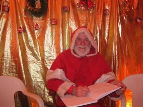 Santa at the Lavender Line