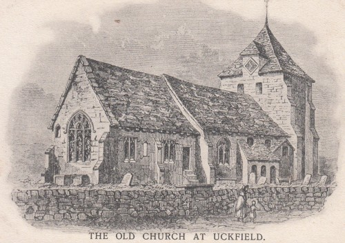 The old church in Uckfield
