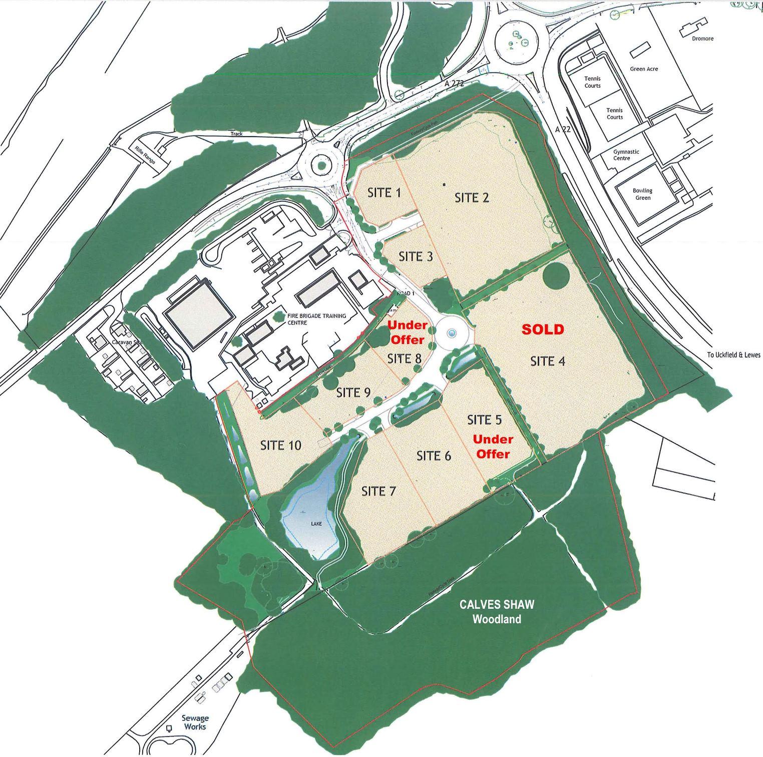 ashdown-business-park-map