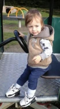 Missing - Daniel Tomoiga, pictured on the Hempstead Lane play area