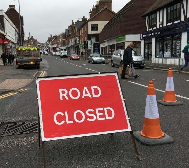 High Street closure 1