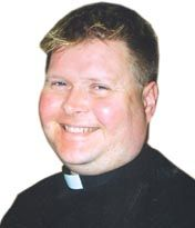 Fr John Wall (Photograph courtesy of  the Church Times)