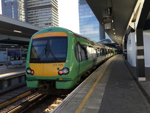 Uckfield train at London Bridge