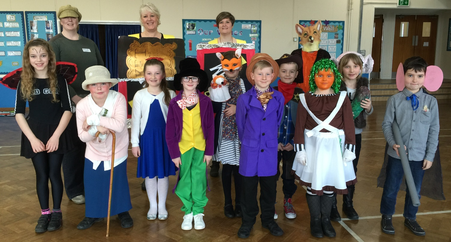 Roald dahl characters flock to manor primary school for Book of life characters names