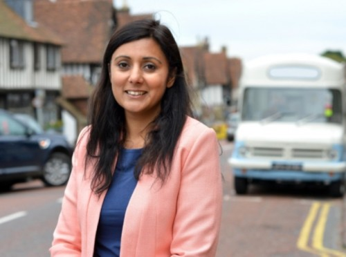 Wealden MP Nus Ghani
