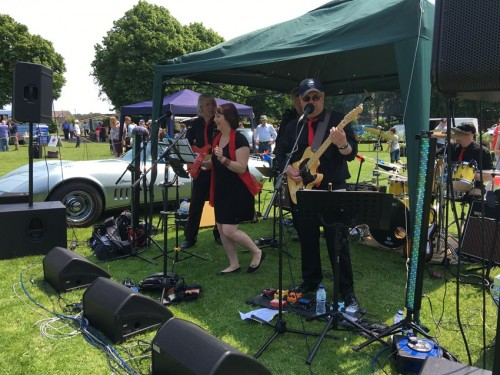 Live music at the Lions Big Fun Day on the Luxford Field