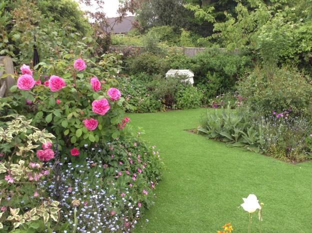 Harlands Villas open gardens