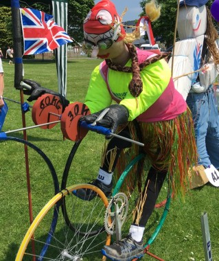 Scarecrow competition entry at the Uckfield Lions Big Fun Day