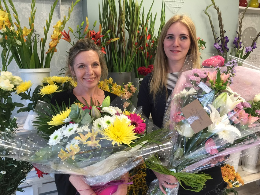 Future Looks Bright For The Flower Shop In Uckfield High
