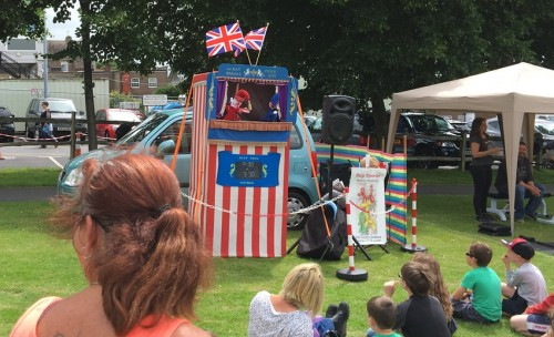 Punch and Judy at the Big Day Out