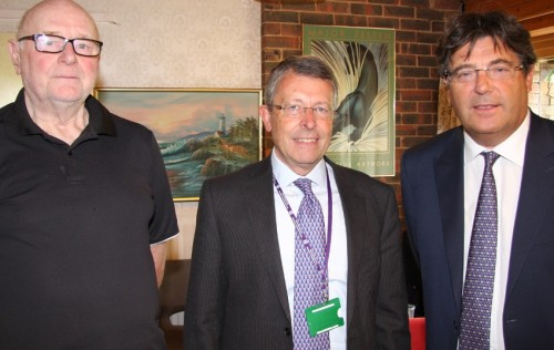 Ron Twigg, Cllr Graham Wells,Martin Waters at Buxted Court opening.jpg