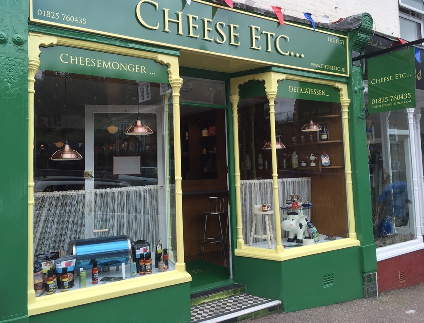 Roller Coaster First Day For New Uckfield Cheesemonger