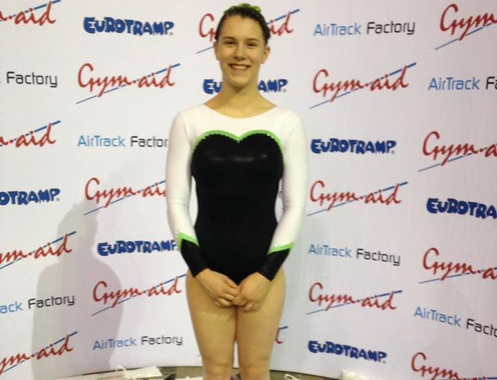 Uckfield's Louise Brownsey is British trampoline champion