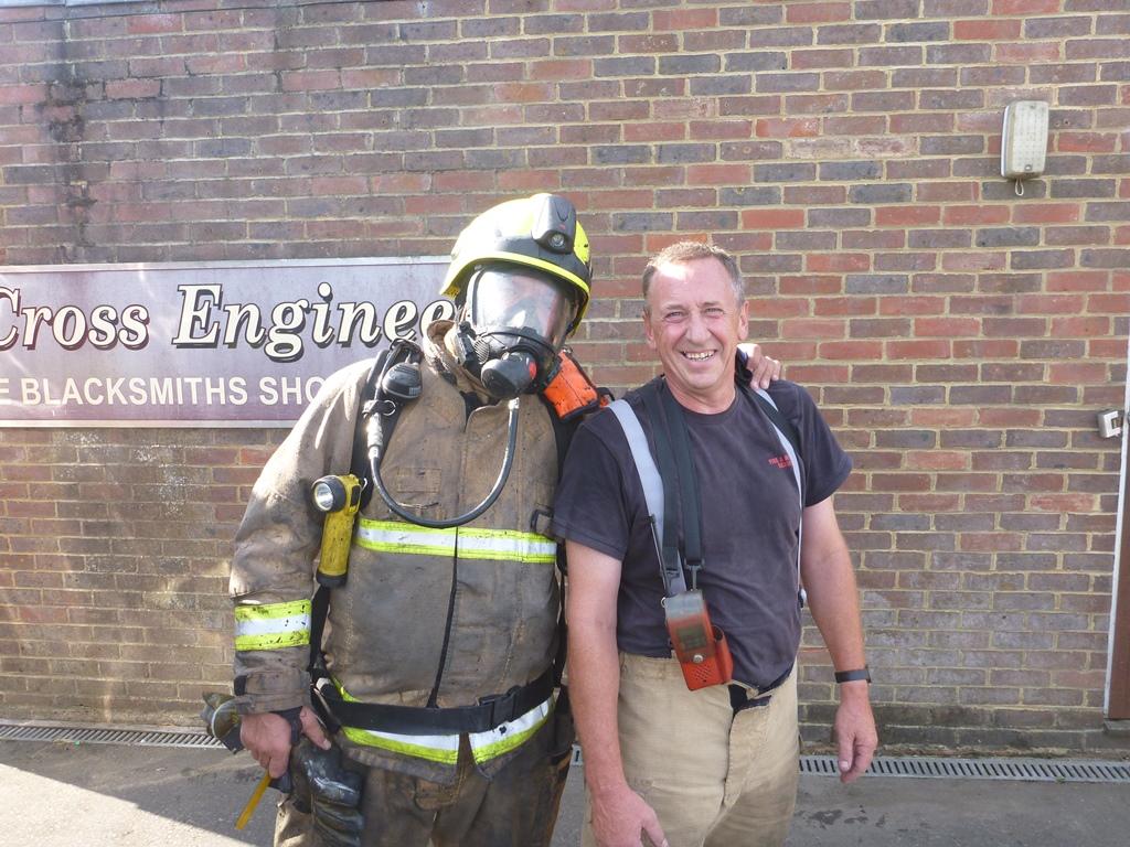 Ians last breathing apparatus team-with-steve-burgoyne