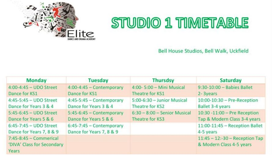 elite-studio-1-timetable