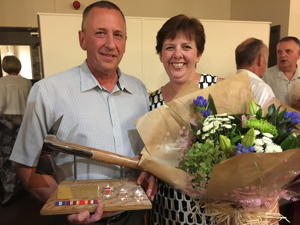 Uckfield firefighter Ian Ritchie retires after 36 years   Uckfield News