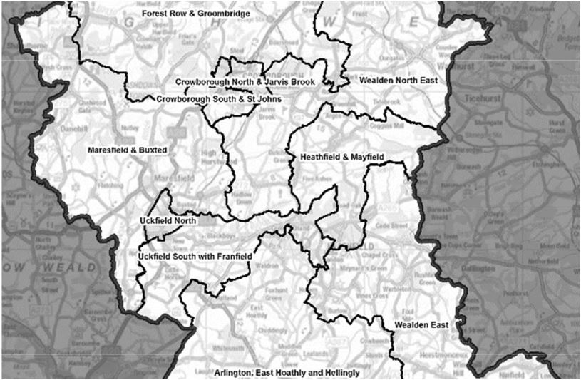 local-gov-boundary-commission-map-uckfield-wards-county