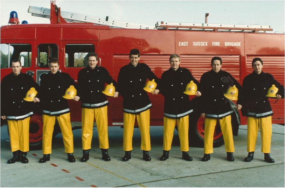 mick-taylor-ian-ritchie-steve-nippard-steve-huggins-ian-hodd-tony-perry-paul-stebbings-wholetime-recruits-course-1986