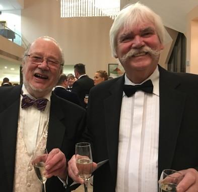 Alan Sallows (left) and Bob Lake