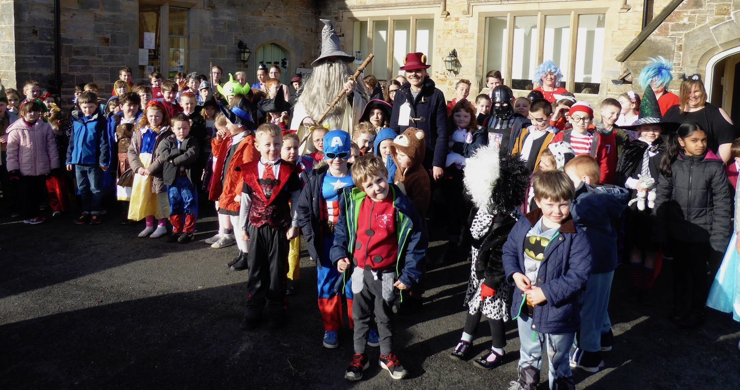 Pic 1 - Holy Cross CEP School Celebrates World Book Day in  Style