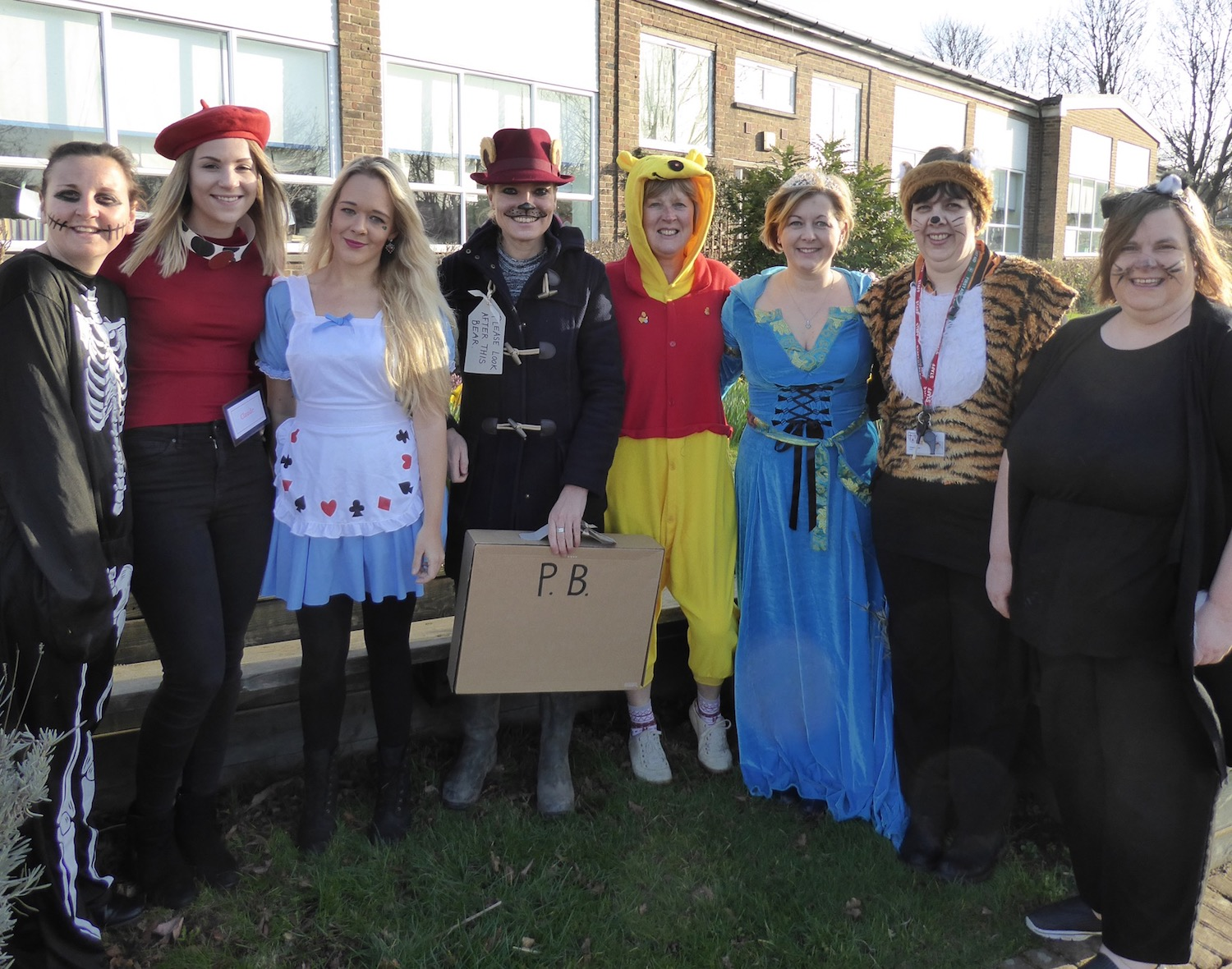 Pic 2 - Holy Cross Teachers Dress Up for World Book Day