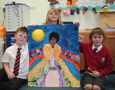 holy-cross-Pic 3 - Year 3 and 4 artwork