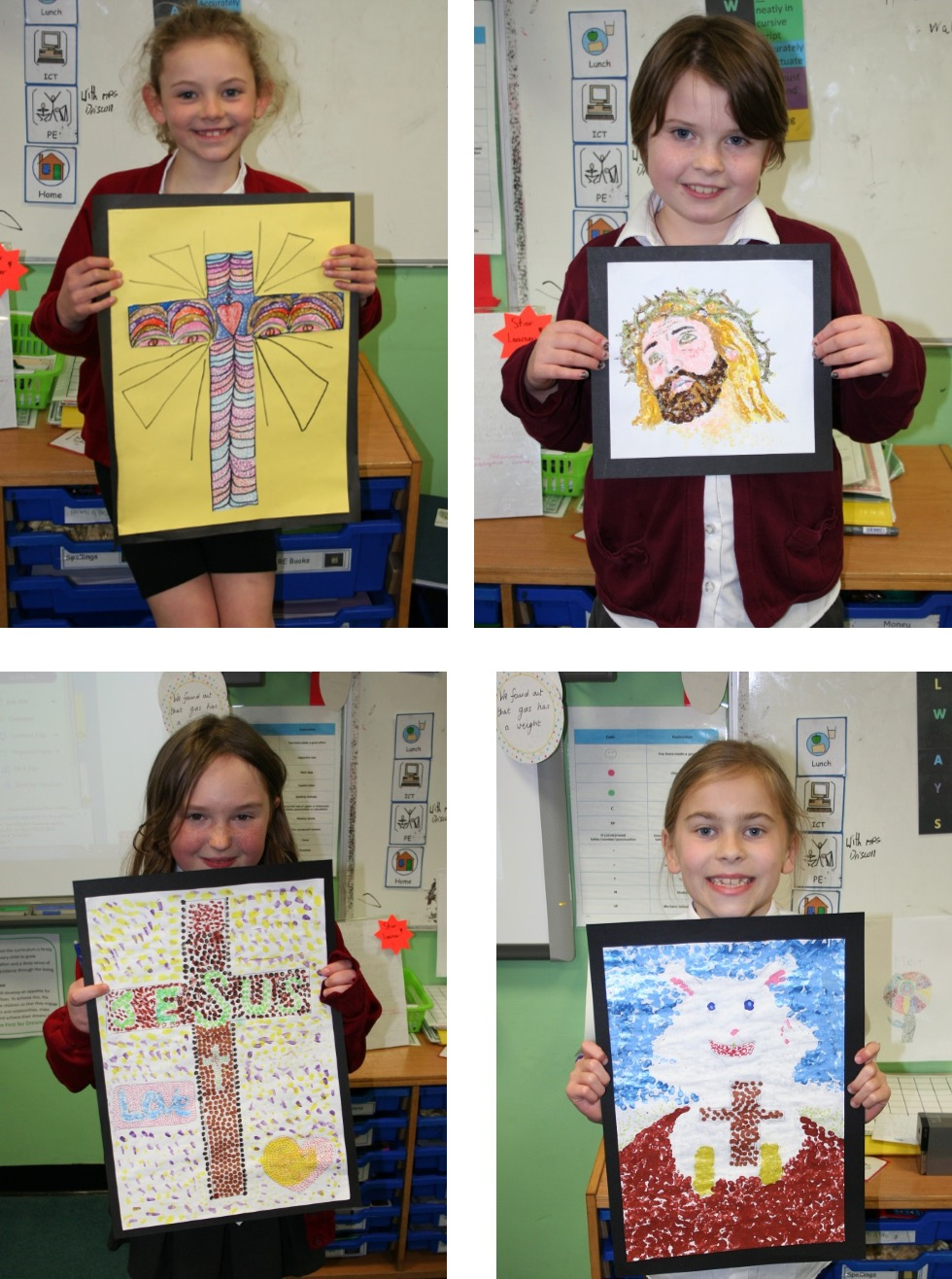 holy-cross-Pic 4 - Year 4 and 5 artwork
