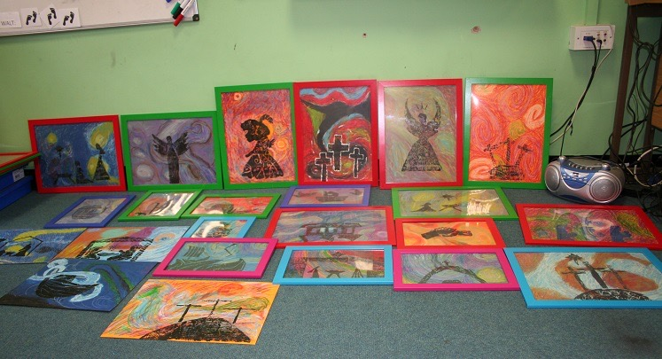 holy-cross-Pic 5 - Year 5 and 6 artwork