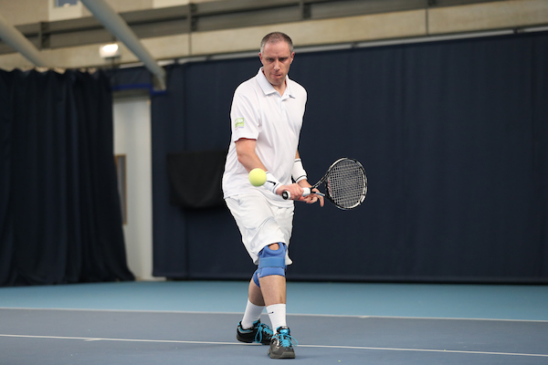 National Visually Impaired Tennis Championships - NTC - Oct '16. Action