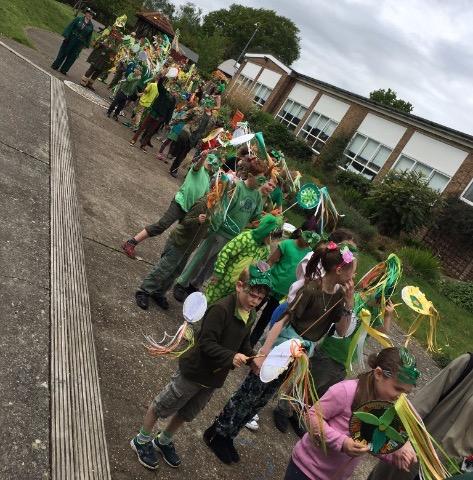 Holy Cross Parade Starts