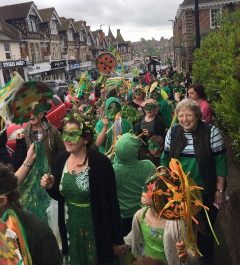 Holy Cross Parades on the High Street