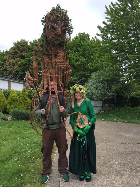 Mrs Dart & Willow Sculpture