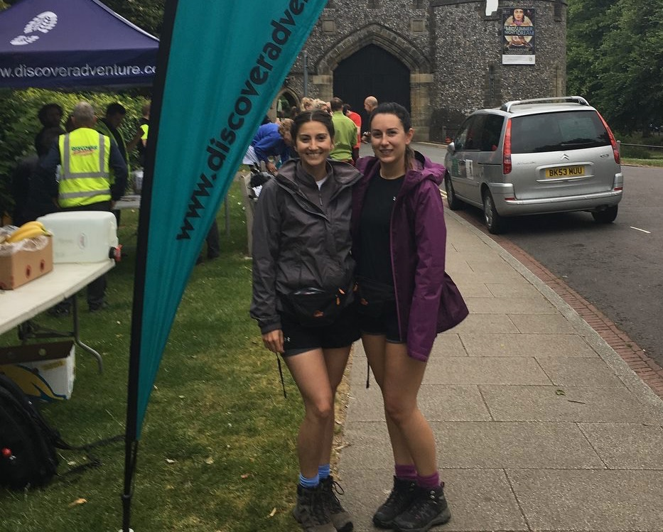 Sade-Hall-Alice-Harding-100km-start