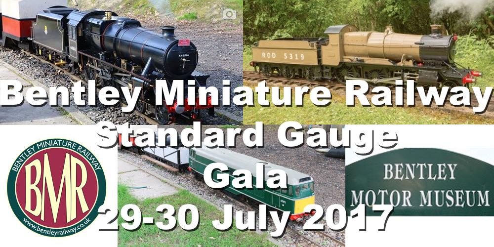 Bentley Miniature Railway holds its first gala weekend