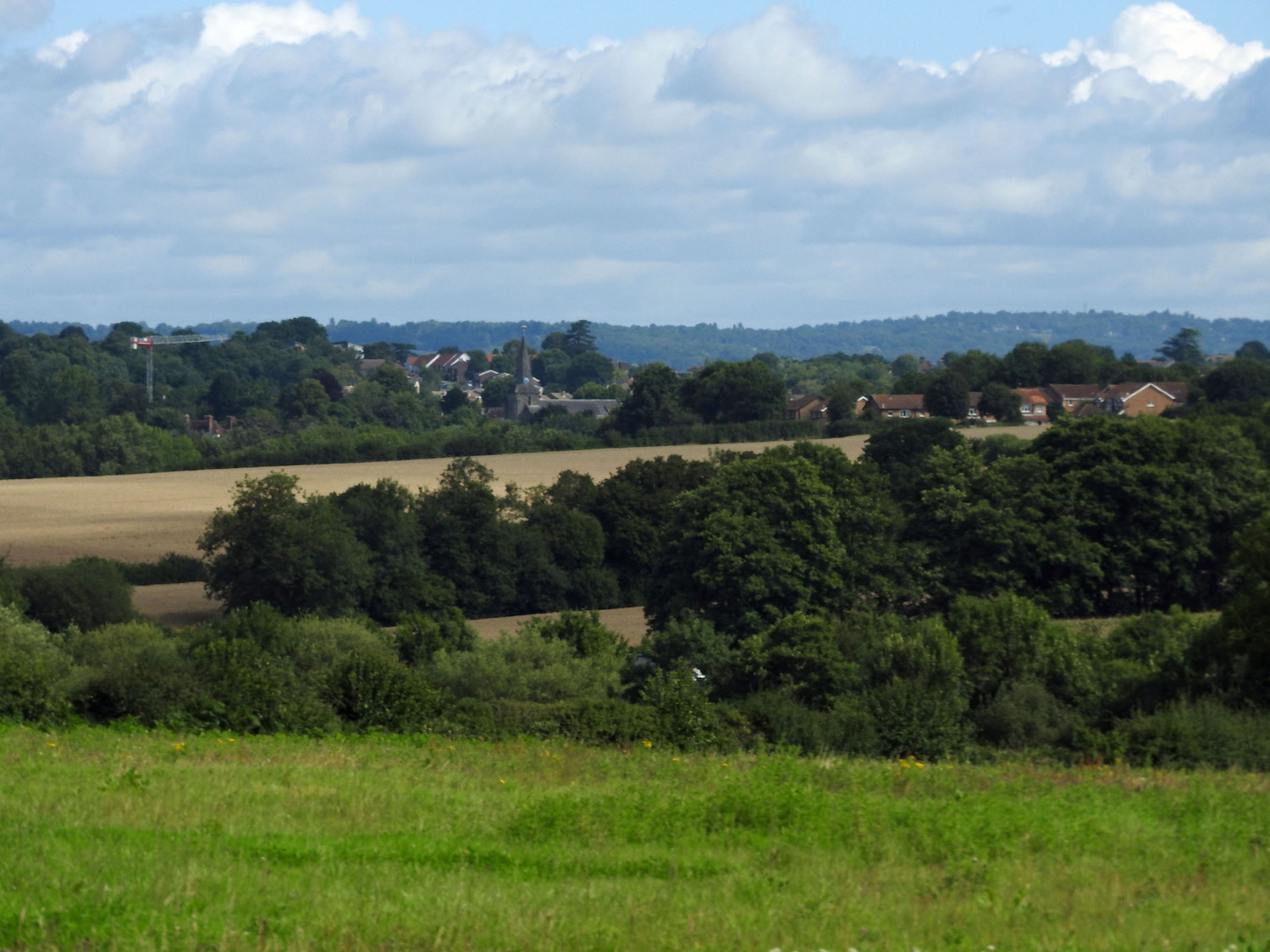 Owlsbury view of Uckfield