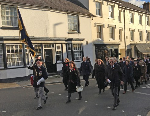 Remembrance Sunday Uckfield