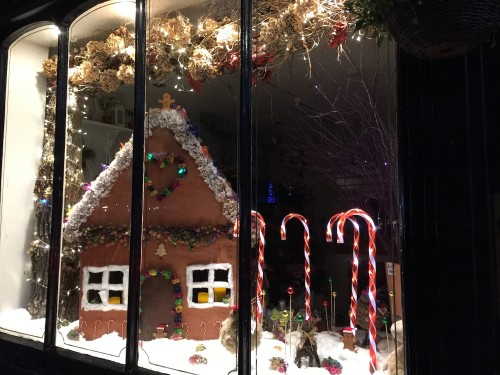 The winning window at The Flower Shop, Uckfield