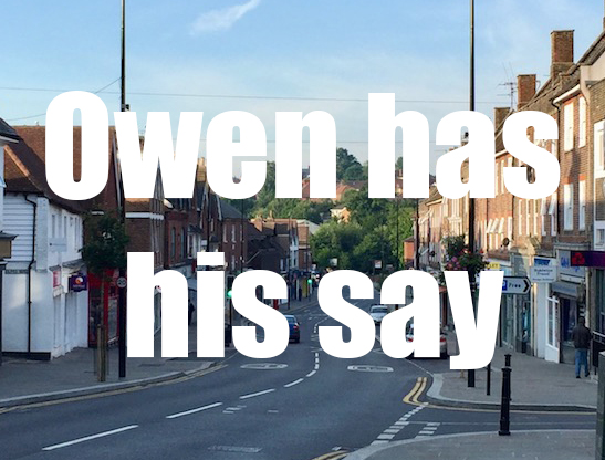 owen has his say
