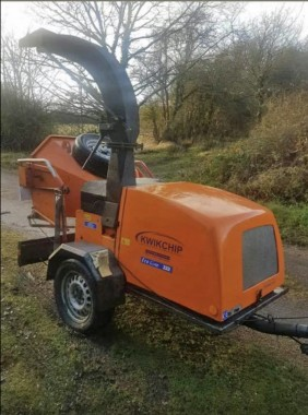 A mechanical chipper similar to this one was stolen from Framfield