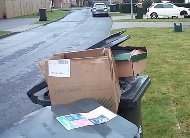 recycling refuse maresfield