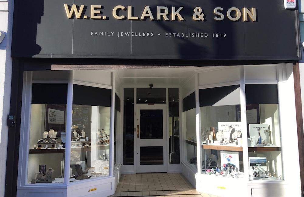w e clark & son-shop-front