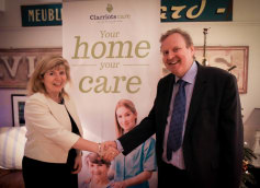 clarriotts-care-Graham with MP Maria Caulfield