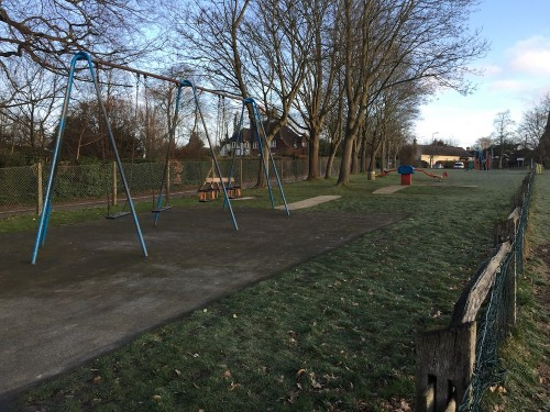 The Luxford Field play area which is next in line for a revamp