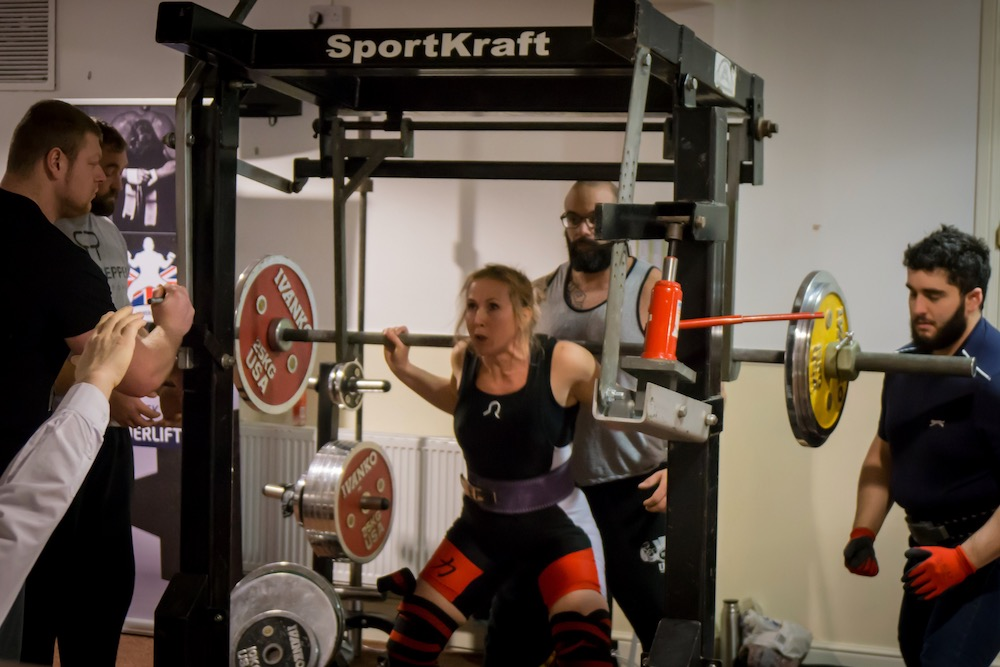 Uckfield powerlifter claims three world records in first