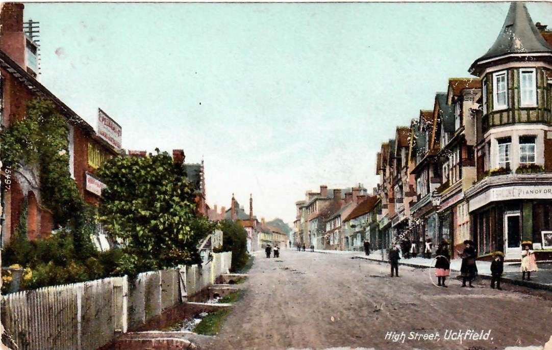 uckfield-high-street-postcard