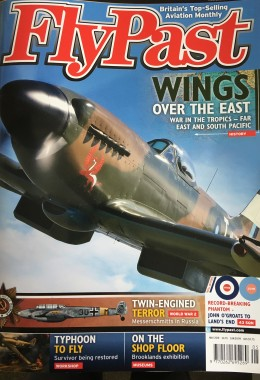 Cover of FlyPast May 2018 which features the Uckfield-based Hawker Typhoon restoration project