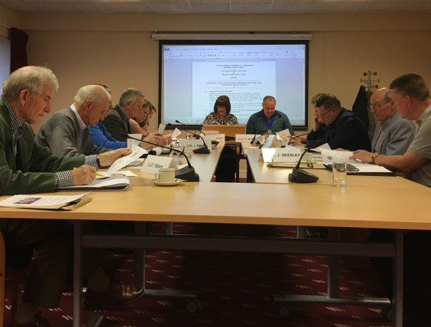 Uckfield Town Council on April 9, 2018