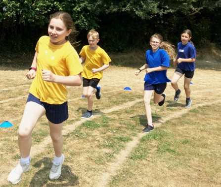 Race for Life at Harlands Primary School