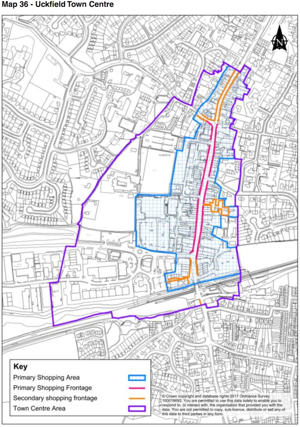 map-uckfield-town-centre