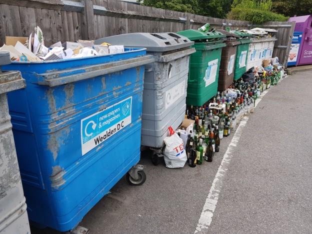 waste-bottles-tesco-bring-site